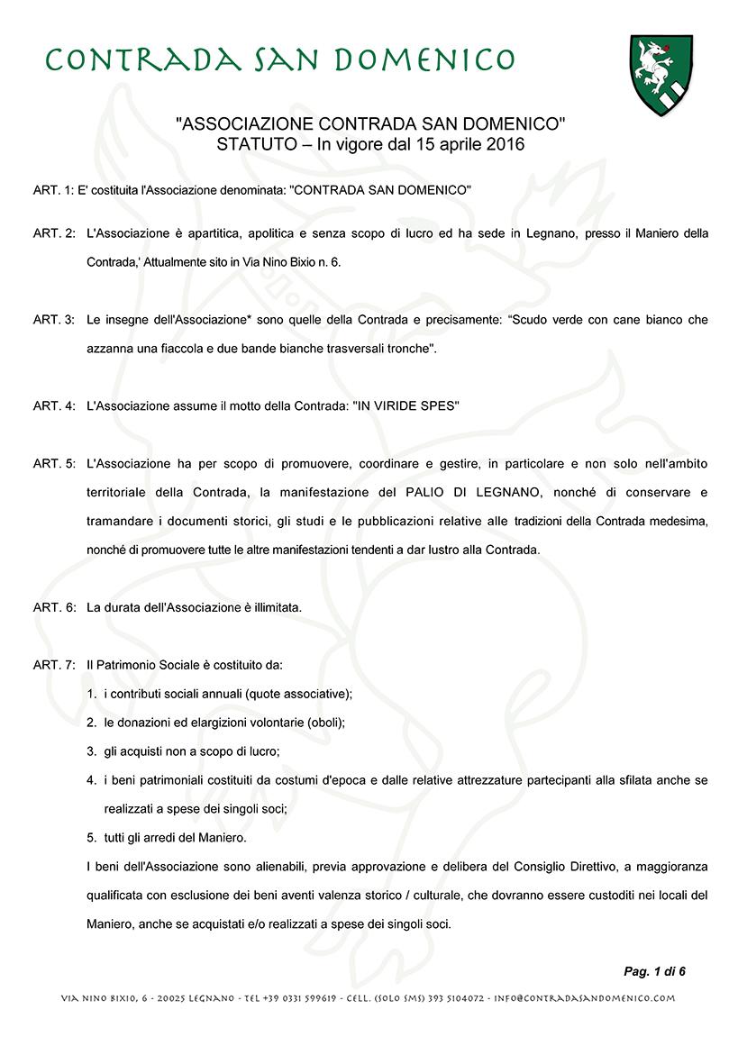 """""""ASSOCIAZIONE CONTRADA SAN DOMENICO"""""""
